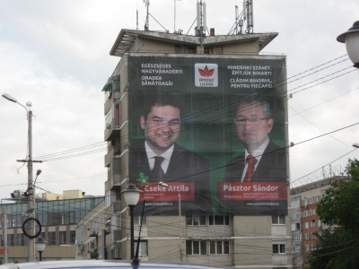 reclama electorala cseke attila pasztor sandor udmr