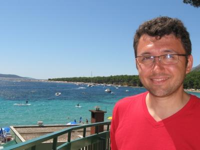 Călin Corpaş - Croaţia (insula Brac), în august 2011. În vacanţă, desigur.