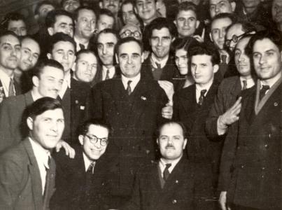 gheorghiu-dej_ceausescu__delegates_in_feb_1948