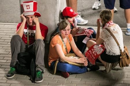 POLAND EURO 2012 SUPPORTERS