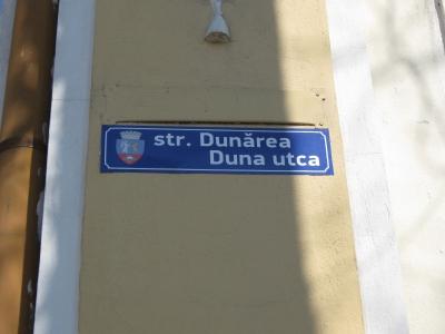 strada dunarea - duna utca oradea