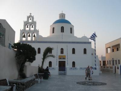 biserica in santorini
