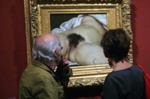 originea lumii - Gustave Courbet