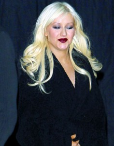 Christina Aguilera, grasa