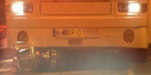 cupa spaniei sub autobuz