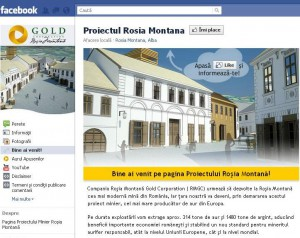 gold corporation facebook