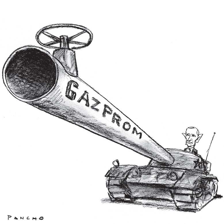 gazprom, arma rusilor. sursa: renne.ro