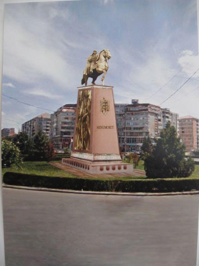 proiectul statuii lui Menumorut