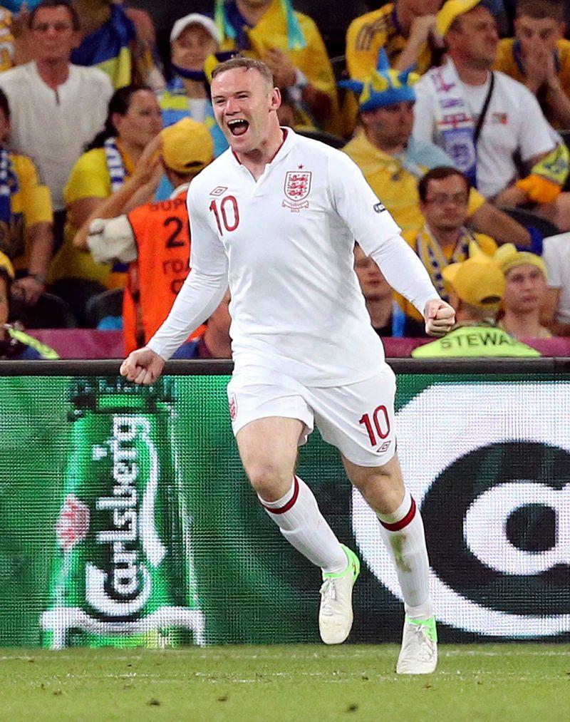 Rooney - decisiv cu Ucraina