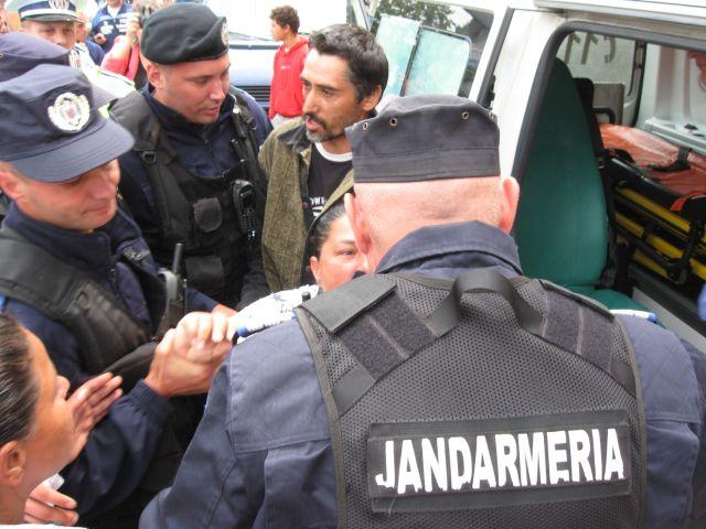 scandal cu jandarmeria