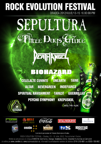 sepultura oradea rock evolution festival