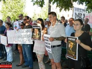 pontaur - protest rosia montana oradea