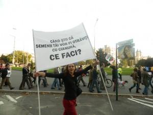 rosia-montana-protest-oradea