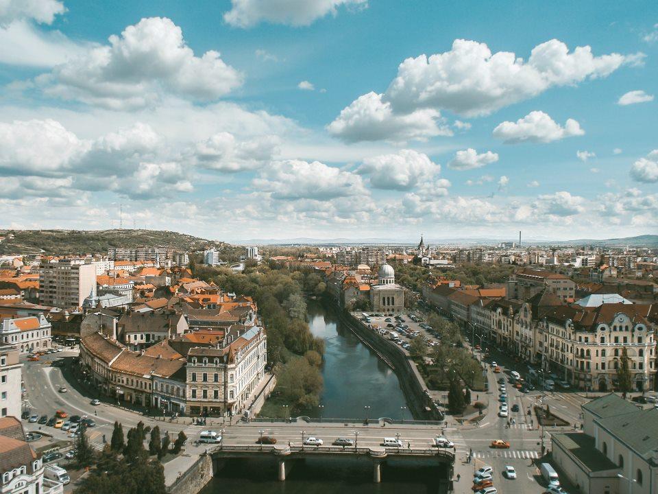 Oradea din turnul Primariei sursa:Oradeainimagini.ro