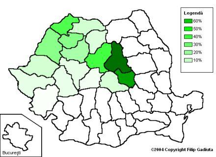 electoratul udmr in romania