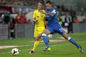 ROMANIA - GREECE SOCCER FIFA WORLD CUP 2014 PLAY OFFS Torje FOTO: EPA
