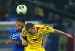 ROMANIA SOCCER FIFA WORLD CUP 2014 PLAYOFFS Maxim Foto: EPA