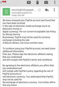 email paypal bitcoin