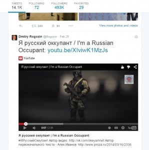 rogozin russian occupant