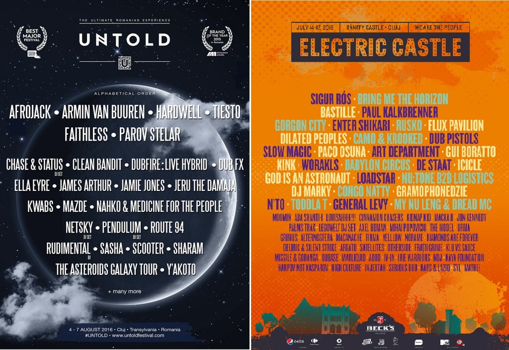 2016 Untold vs Electric Castle