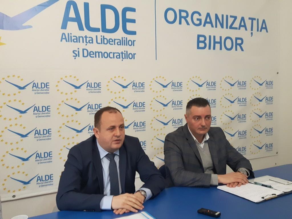 ALDE Bihor / Traian Bodea şi Dorin Corcheş
