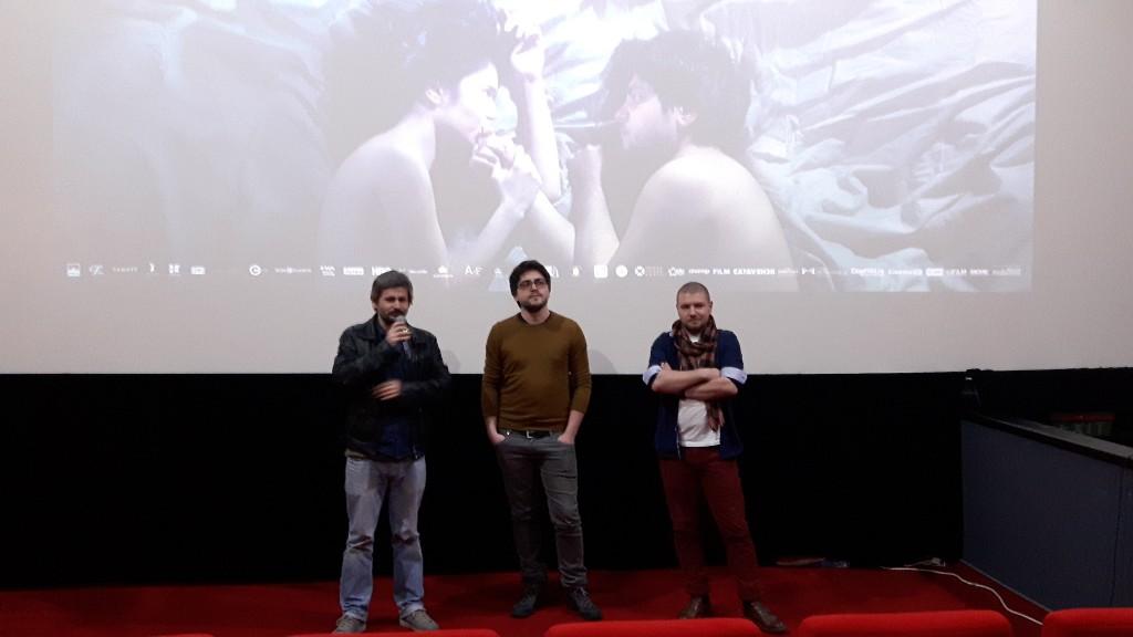 Adrian Sitaru, Robi Urs si Liviu Vizitiu - la premiera filmului Ilegitim de la Oradea