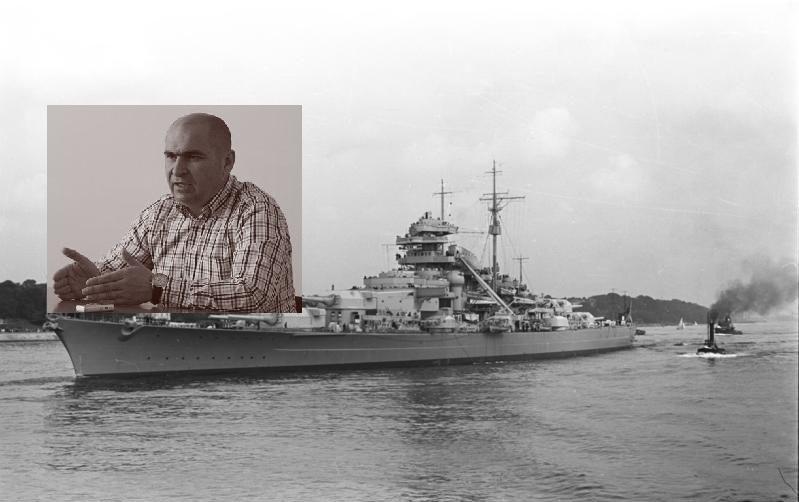 """""""Crucişătorul"""" Bolojan von Bismarck"""