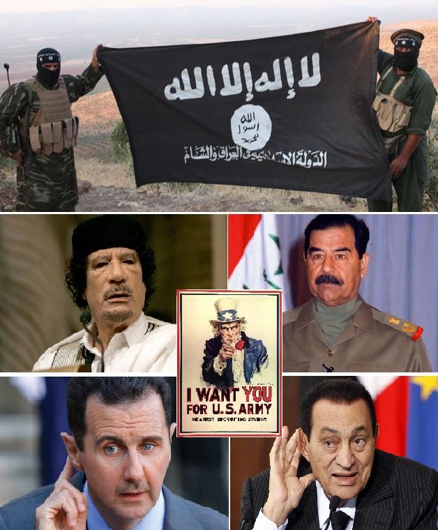 Dictatorii africo-orientali au cazut, iar haosul a pus stapanire pe Europa, Africa si Orientul Mijlociu