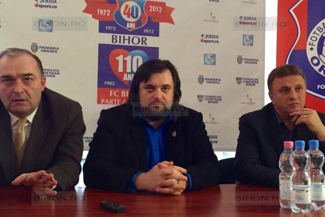 Florin Bogdan s-a implicat si la FC Bihor, dar nu a reusit sa salveze clubul Foto Bihon.ro