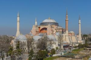 Hagia Sophia din Istanbul, fosta catedrala patriarhala, transformată în moschee