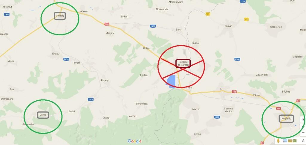 Coborari pe Autostrada Transilvania, în Bihor
