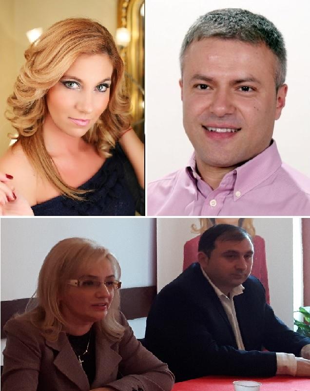 Anca Grama Sas, Lucian Popa si pesedistii Adelina Coste si Adrian Stanga
