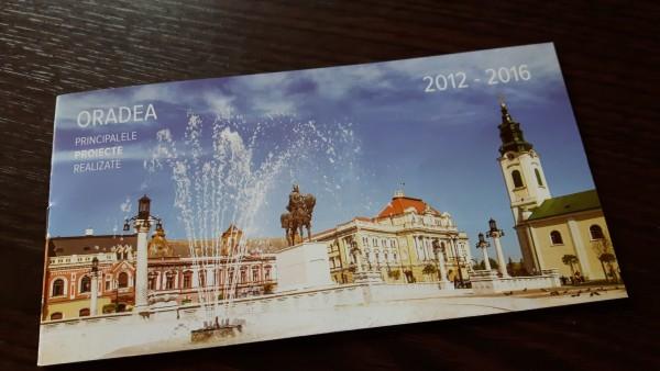Pliant Bolojan in cutiile postale ale oradenilor. Proiecte cu bolovani si prin oras.