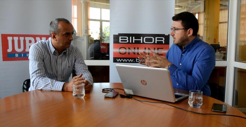 Serban Sere si Calin Corpas, in emisiunea Direct in subiect, transmisa de www.BIHON.ro