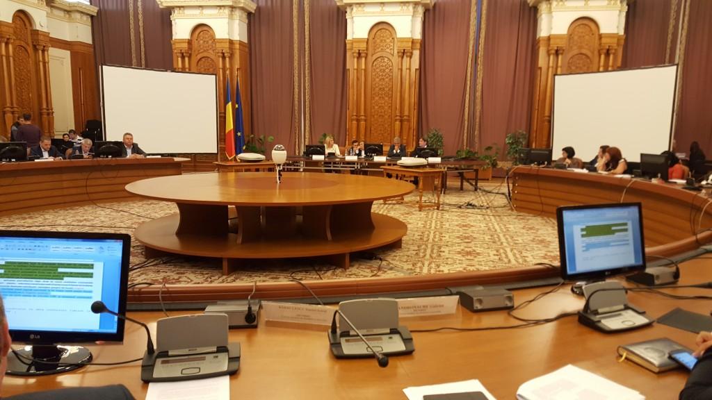 Reconversia creditelor CHF a fost votată în Comisiile buget finanțe și juridica a Camerei