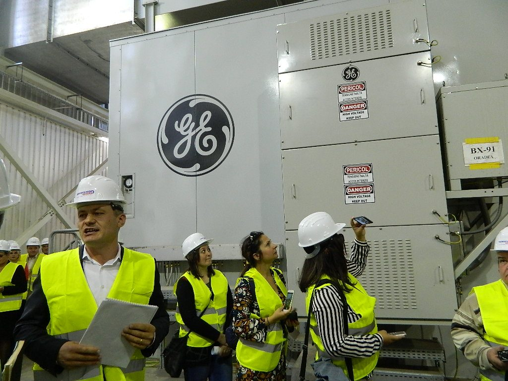 Turbina pe gaz de la CET Oradea, furnizat de General Electric, are probleme de funcţionare