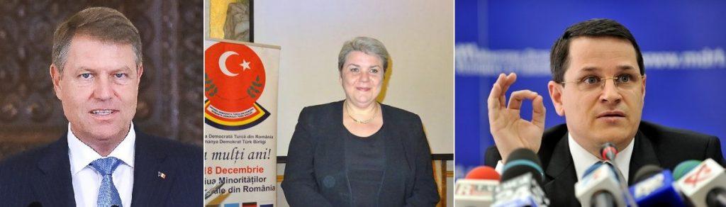 Klaus Iohannis, Sevil Shhaideh si Eduard Hellvig