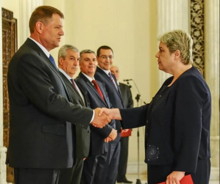 Iohannis a acceptat-o pe Sevil Shhaideh ministru al Dezvoltării Regionale, în 2015