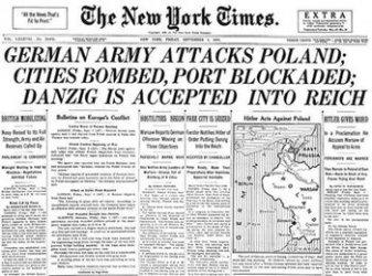 NY Times relata invazia Poloniei