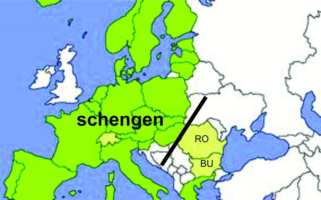 Romania interzisa in Schengen Foto Cotidianul