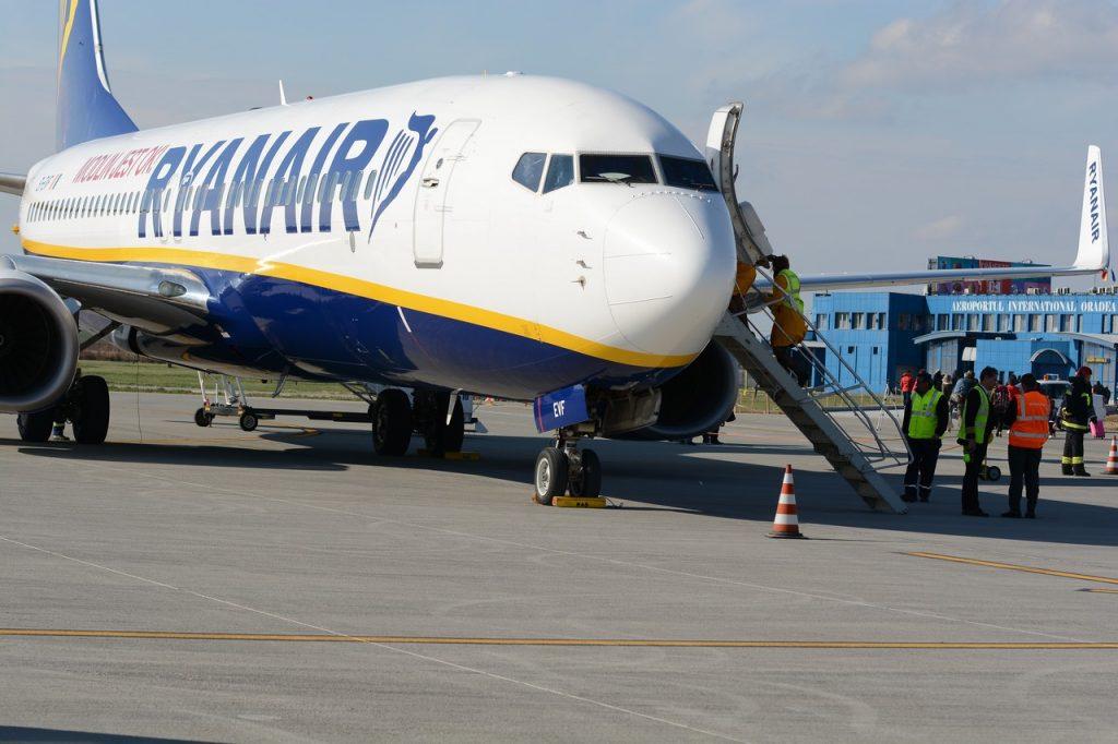 Mai multe aeronave Ryanair au ramas la sol, in ultima perioada, afectand inclusiv pasagerii de pe Aeroportul Oradea OMR/LROD