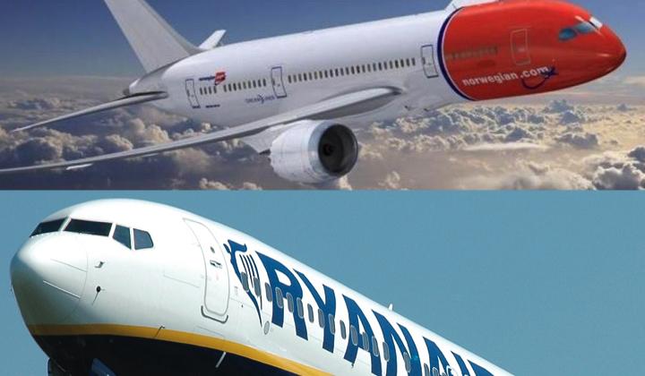 Ryanair vs Norwegian
