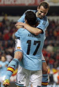 SPAIN SOCCER FRIENDLIES
