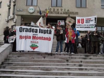 mars rosia montana oradea 10 noiembrie
