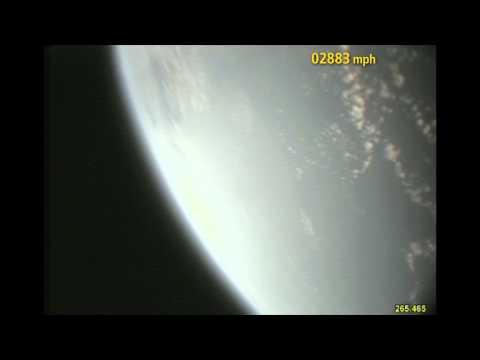 Foarte tare: videoclip Pamant-cosmos si retur, cu sunet real